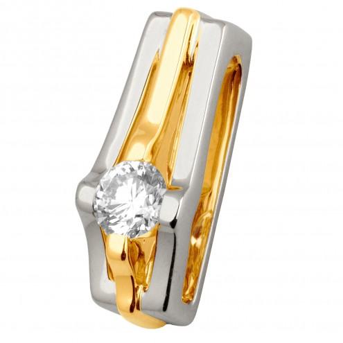 Підвіска з 1 діамантом 329-0665
