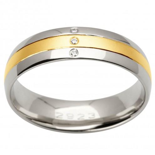 Обручка з декількома діамантами 341-1660