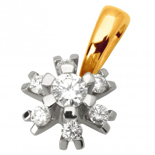Підвіска з декількома діамантами 349-0587