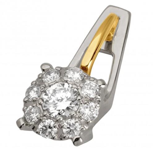 Підвіска з декількома діамантами 349-0684