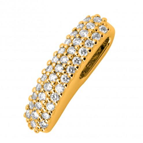 Підвіска з декількома діамантами 749-0284