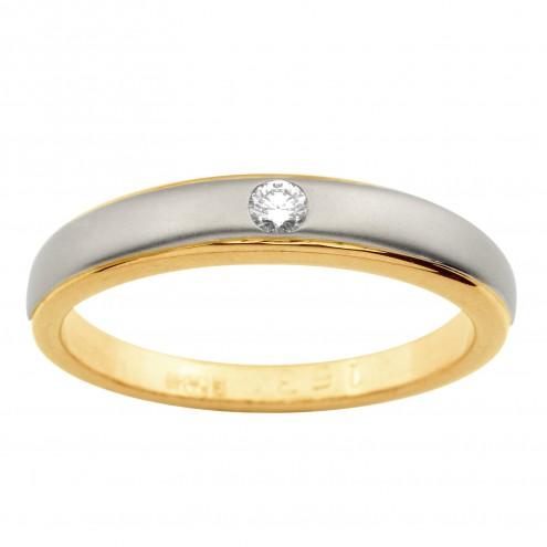 Обручка з 1 діамантом 821-1358