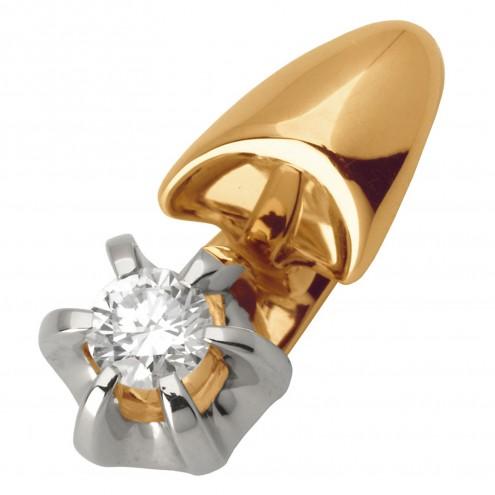Підвіска з 1 діамантом 829-0591
