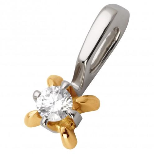 Підвіска з 1 діамантом 829-0601