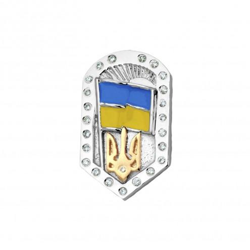 Значок з декількома діамантами 843-0039