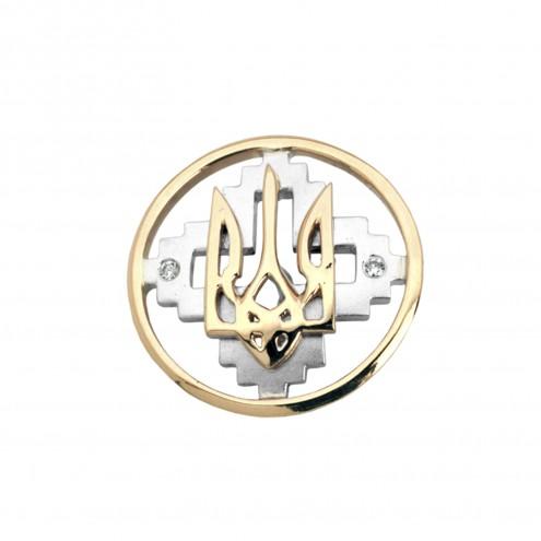Значок з декількома діамантами 843-0049