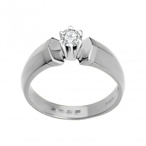 Каблучка з 1 діамантом 921-0109