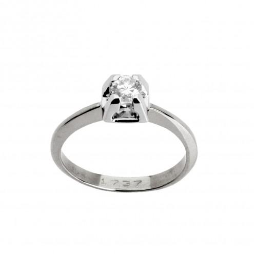 Каблучка з 1 діамантом 921-0188