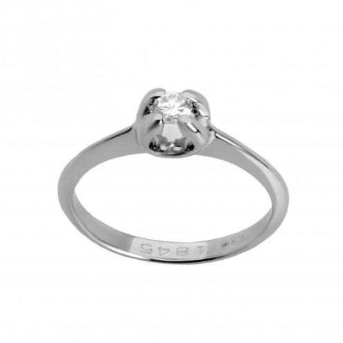 Каблучка з 1 діамантом 921-0199