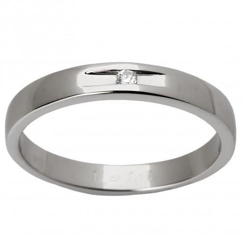 Обручка з 1 діамантом 921-0392