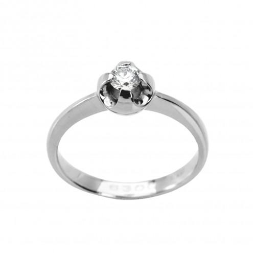 Каблучка з 1 діамантом 921-0611