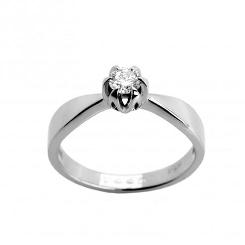Каблучка з 1 діамантом 921-0685