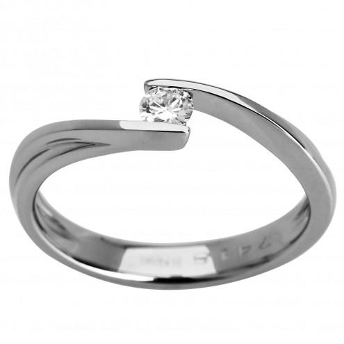 Каблучка з 1 діамантом 921-0964