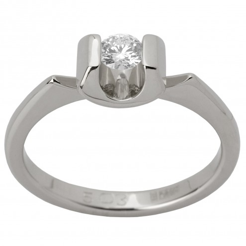 Каблучка з 1 діамантом 921-1262