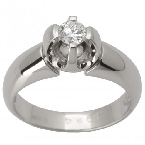 Каблучка з 1 діамантом 921-1447