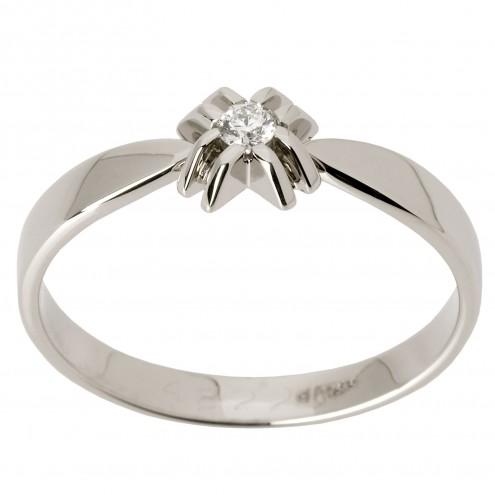 Каблучка з 1 діамантом 921-1449