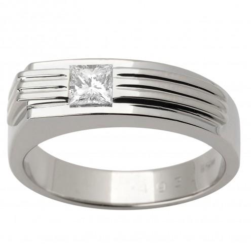 Перстень з 1 діамантом 921-1457