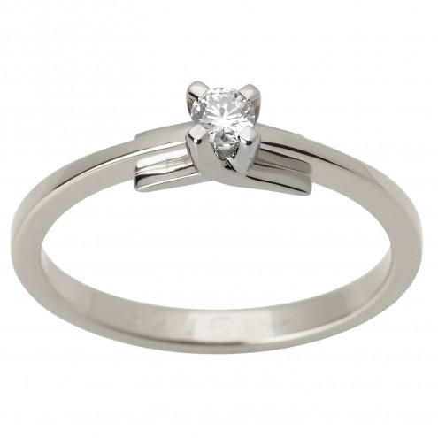 Каблучка з 1 діамантом 921-1575