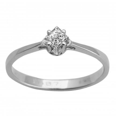 Каблучка з 1 діамантом 921-1615.12