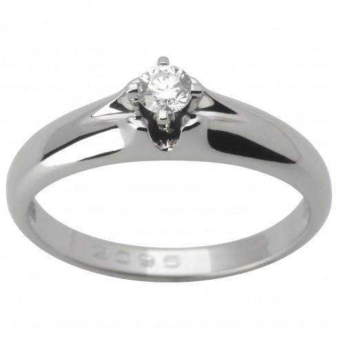 Каблучка з 1 діамантом 921-1635