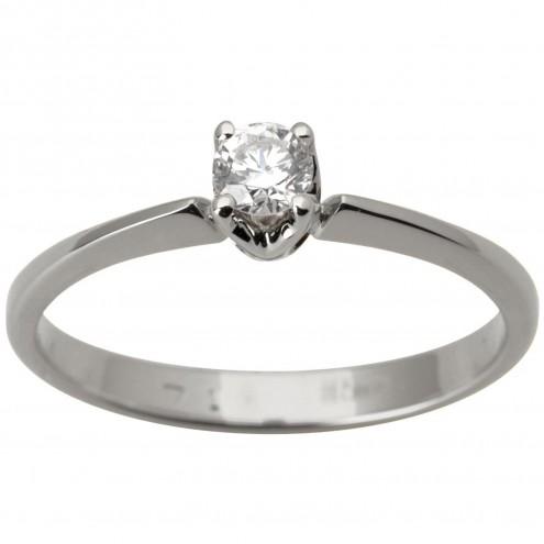 Каблучка з 1 діамантом 921-1685