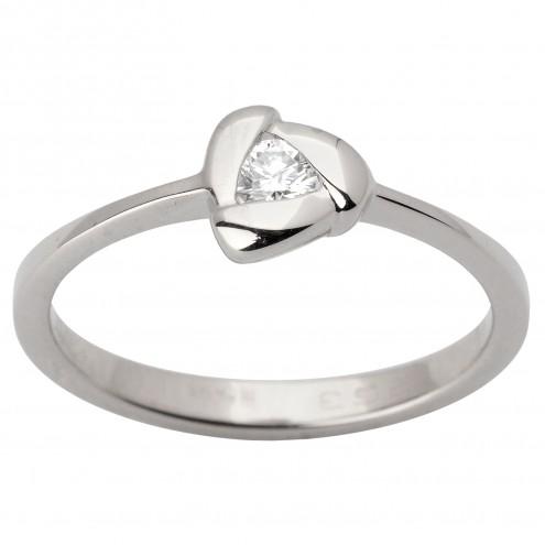 Каблучка з 1 діамантом 921-1692