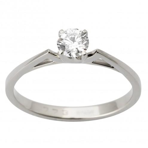 Каблучка з 1 діамантом 921-1718