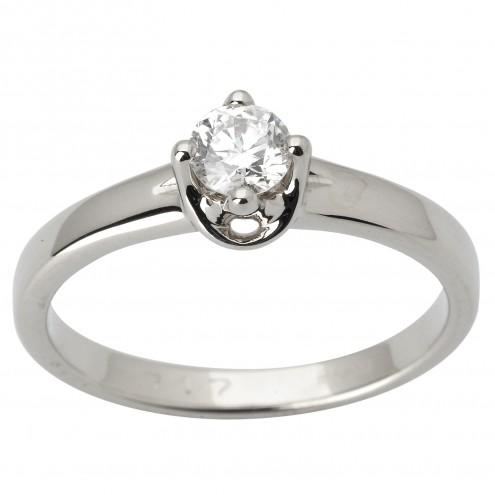 Каблучка з 1 діамантом 921-1719