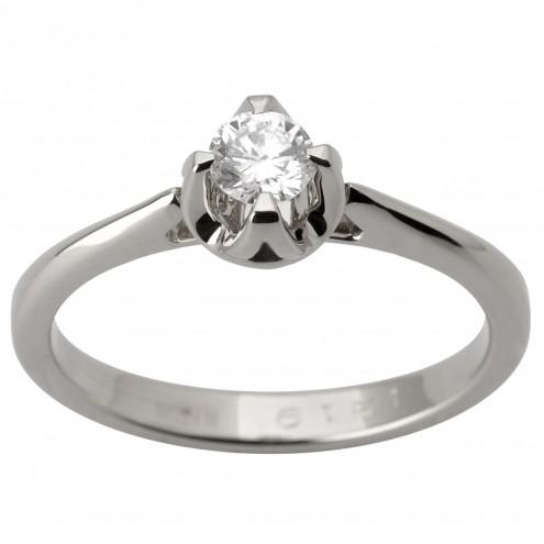 Каблучка з 1 діамантом 921-1742