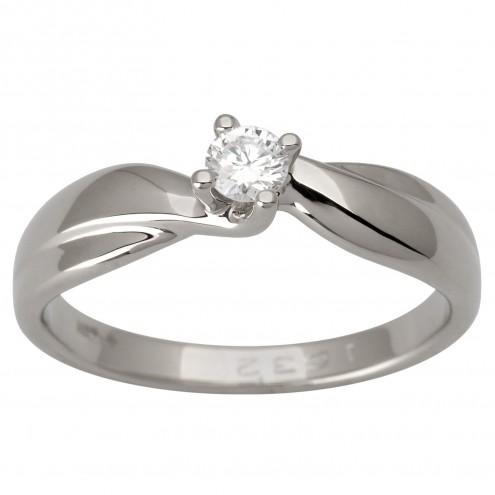 Каблучка з 1 діамантом 921-1757