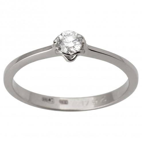 Каблучка з 1 діамантом 921-1785