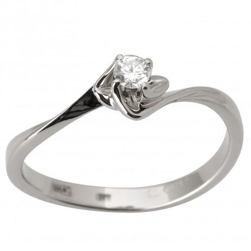 Каблучка з 1 діамантом 921-1792