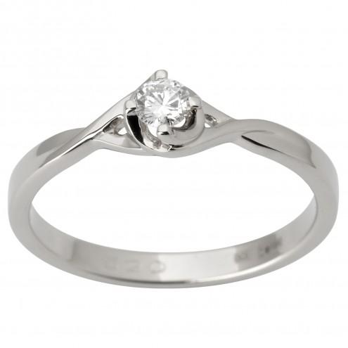 Каблучка з 1 діамантом 921-1800