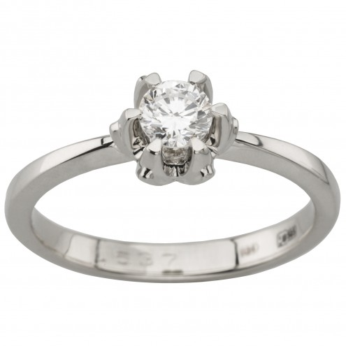 Каблучка з 1 діамантом 921-1843