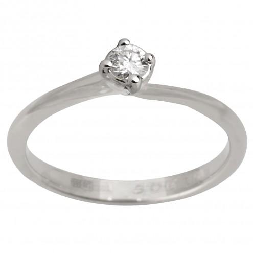 Каблучка з 1 діамантом 921-1934