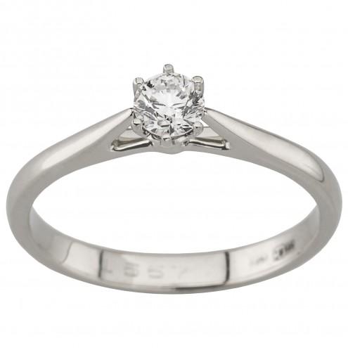 Каблучка з 1 діамантом 921-1971
