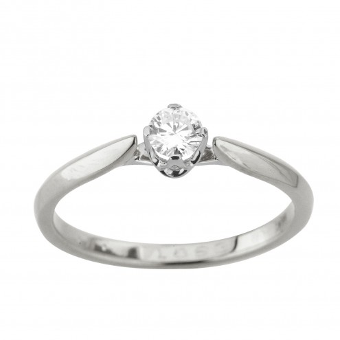 Каблучка з 1 діамантом 921-2038