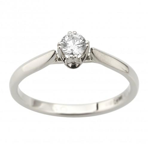 Каблучка з 1 діамантом 921-2058