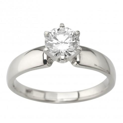 Каблучка з 1 діамантом 921-2077