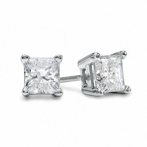 Сережки з 1 діамантом 922-0241