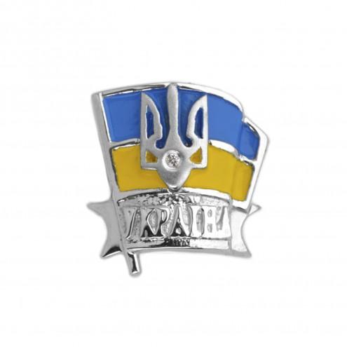Значок з 1 діамантом 923-0042