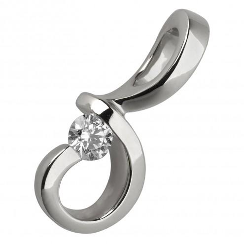 Підвіска з 1 діамантом 929-0268