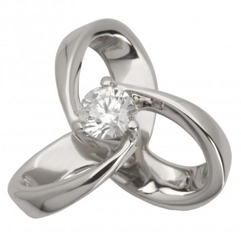 Підвіска з 1 діамантом 929-0452
