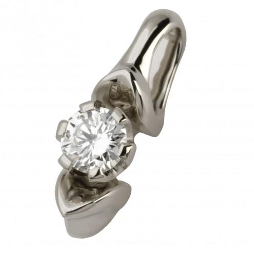 Підвіска з 1 діамантом 929-0463