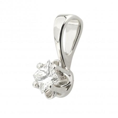Підвіска з 1 діамантом 929-0578.12