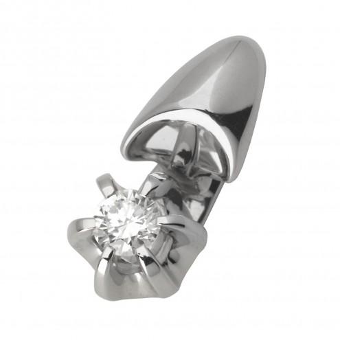 Підвіска з 1 діамантом 929-0591