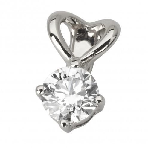 Підвіска з 1 діамантом 929-0831