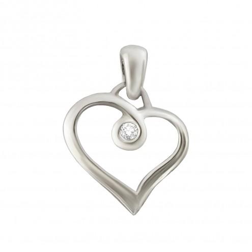 Підвіска з 1 діамантом 929-1022