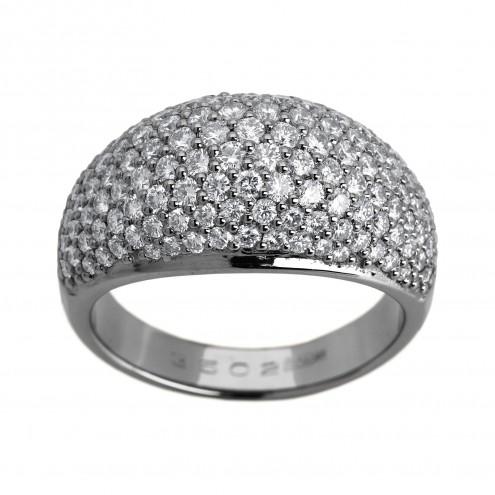 Каблучка з декількома діамантами 941-0895