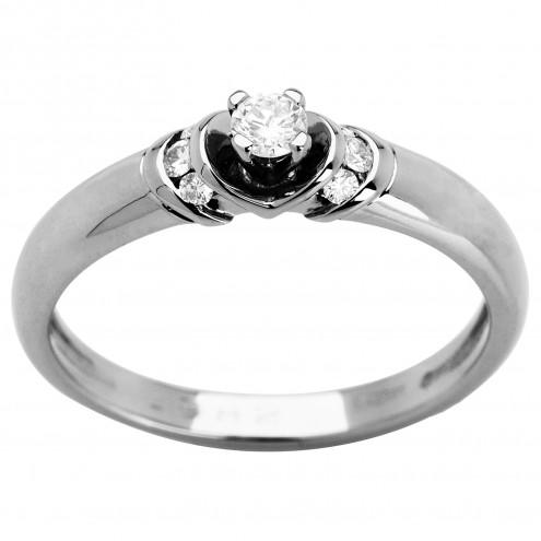 Каблучка з декількома діамантами 941-0971